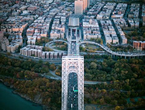 Innovation「Aerial photography of the Bridge, NY」:スマホ壁紙(3)