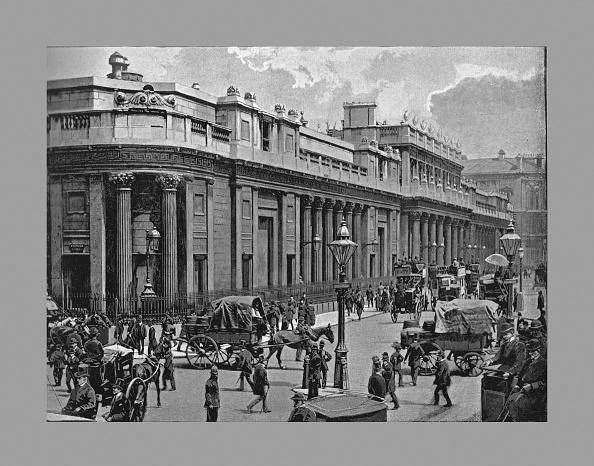 City Life「The Bank Of England, London, C1900」:写真・画像(17)[壁紙.com]