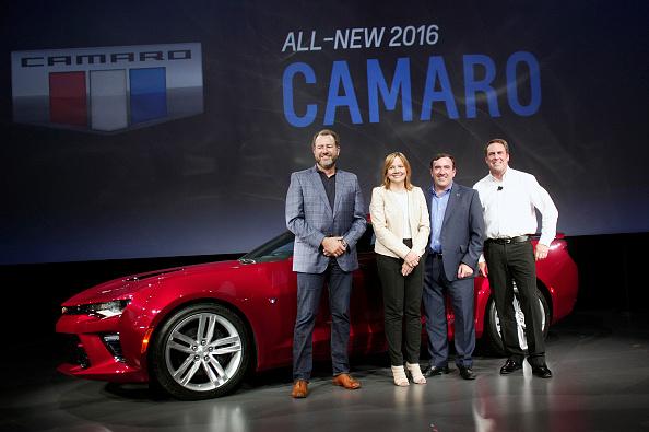 New「Chevrolet Reveals Its New 2016 Camaro」:写真・画像(2)[壁紙.com]