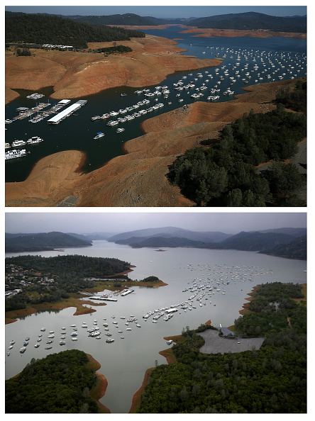 カリフォルニア州「Then And Now: California's Drought Officially Declared To Be Over」:写真・画像(15)[壁紙.com]