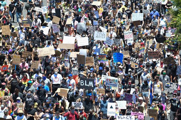 Crowd「All Black Lives Matter Solidarity March」:写真・画像(12)[壁紙.com]