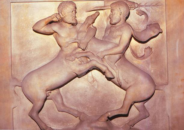 Two Centaurs Fighting Over A Young Deer:ニュース(壁紙.com)