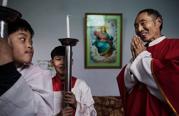 Church「Chinese Christians Mark Holy Week At Underground Church」:写真・画像(12)[壁紙.com]