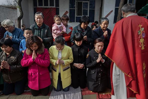 Christianity「Chinese Christians Mark Holy Week At Underground Church」:写真・画像(0)[壁紙.com]