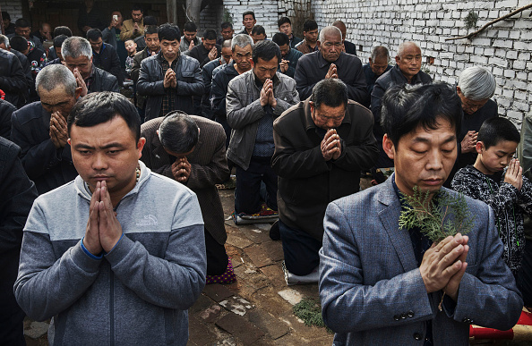Church「Chinese Christians Mark Holy Week At Underground Church」:写真・画像(11)[壁紙.com]