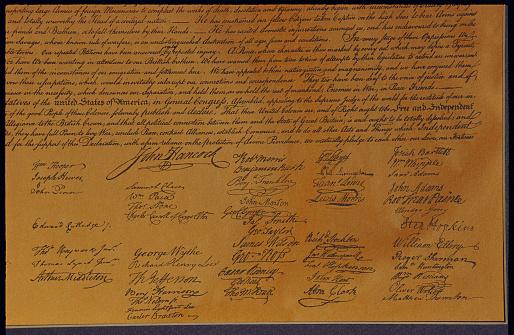 Manuscript「Declaration of Independence」:スマホ壁紙(15)