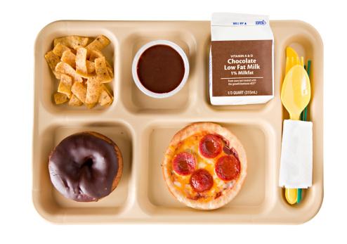 Unhealthy Eating「Unhealthy School Lunch」:スマホ壁紙(15)