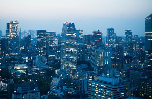 Skyscraper「Fantastic Urban landscape」:スマホ壁紙(16)