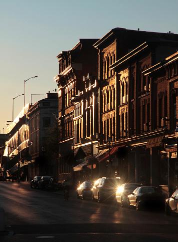 19th Century「Downtown Kingston, Ontario Silhouette」:スマホ壁紙(14)
