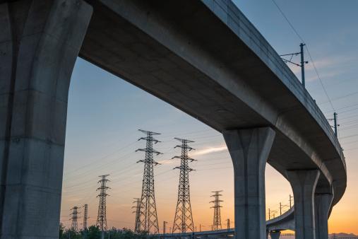 Electricity Pylon「Bridge Electricity Pylon」:スマホ壁紙(18)