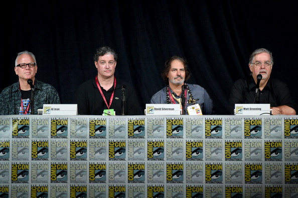 "David Silverman「FOX's ""The Simpsons"" Panel - Comic-Con International 2014」:写真・画像(2)[壁紙.com]"