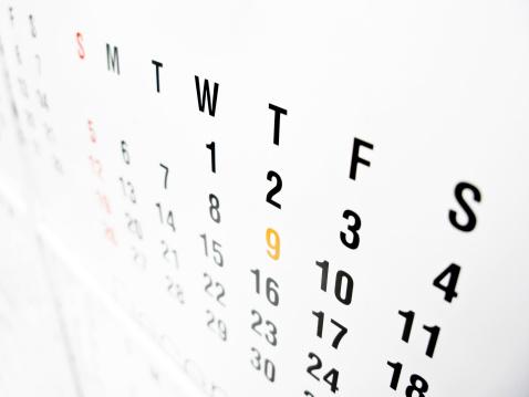 月「カレンダー」:スマホ壁紙(10)