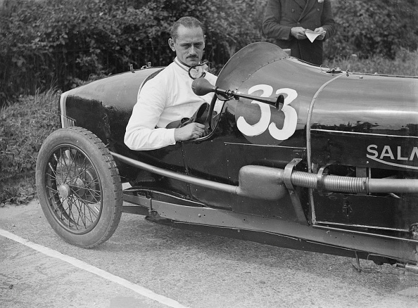 Race Car Driver「Goldie Gardner in his Salmson GS at the JCC 200 Mile Race, Brooklands, Surrey, c1920s」:写真・画像(14)[壁紙.com]