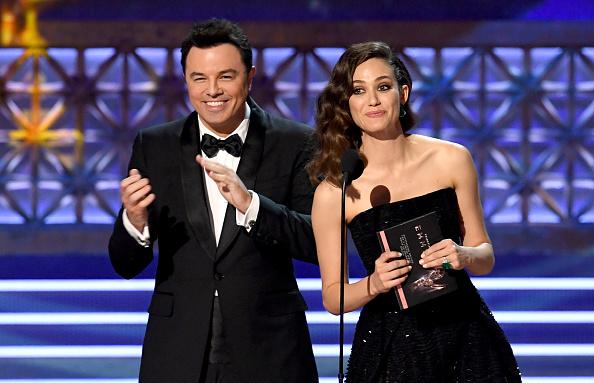 エミー・ロッサム「69th Annual Primetime Emmy Awards - Show」:写真・画像(1)[壁紙.com]