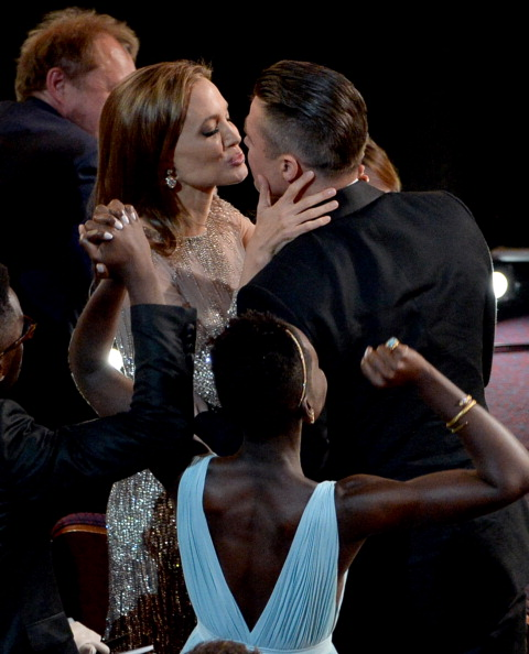Brangelina - Couple「86th Annual Academy Awards - Show」:写真・画像(11)[壁紙.com]