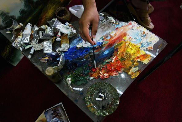 Artist's Palette「Iraqi Painters Find Their Way To Baghdad's Artist Corner」:写真・画像(0)[壁紙.com]