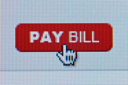 Paying「Pay Bill, internet graphic sign」:スマホ壁紙(17)