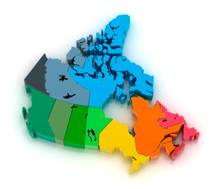 Nunavut「Canada with provinces and territories」:スマホ壁紙(17)