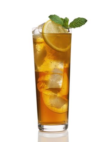 Ice Tea「Iced tea with lemon garnish」:スマホ壁紙(4)