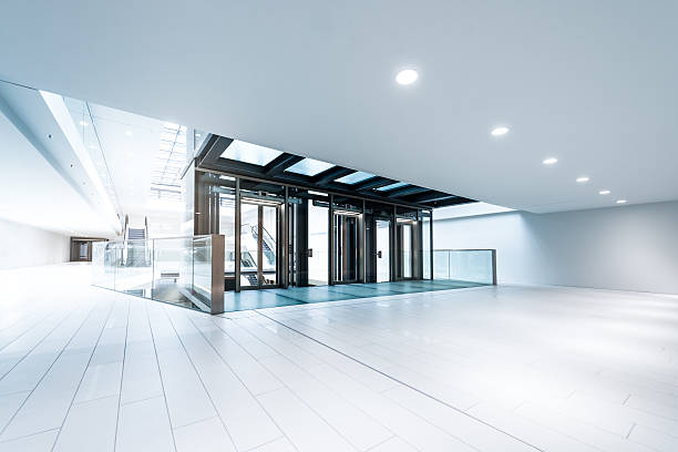 Modern business hall lifts:スマホ壁紙(壁紙.com)