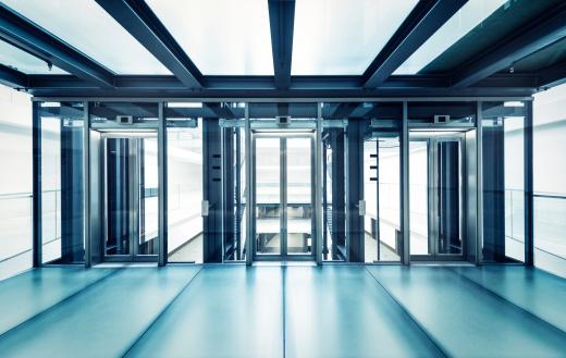 Escalator「Modern business hall lifts」:スマホ壁紙(13)
