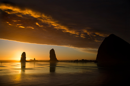 Cannon Beach「Cannon Beach Sunset Splendor」:スマホ壁紙(15)