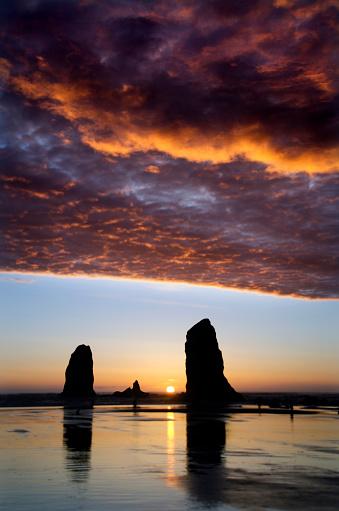 Cannon Beach「Cannon Beach Sunset Splendor」:スマホ壁紙(14)