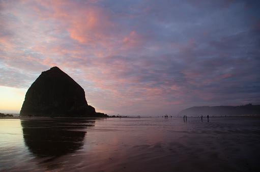 Cannon Beach「Cannon Beach Sunset Splendor」:スマホ壁紙(9)