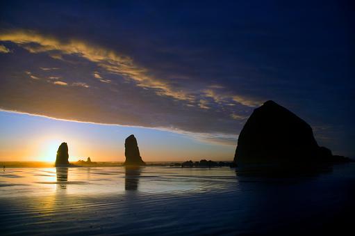 Cannon Beach「Cannon Beach Sunset Splendor」:スマホ壁紙(8)