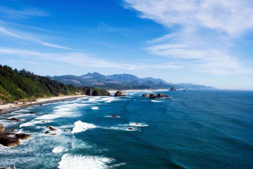 Haystack Rock「Cannon Beach, Oregon」:スマホ壁紙(11)