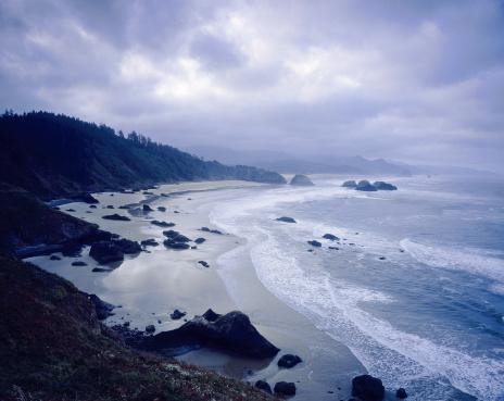 Ecola State Park「Cannon beach, Ecola State Park, Oregon, USA」:スマホ壁紙(19)
