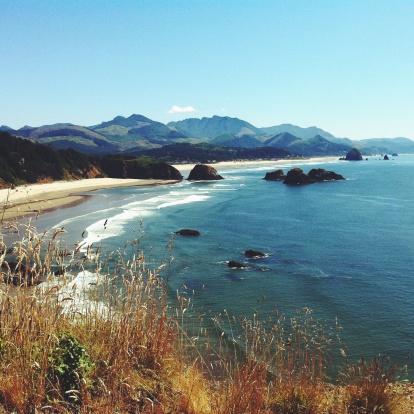 Cannon Beach「Cannon Beach And Haystack Rock, Oregon, America, USA」:スマホ壁紙(11)