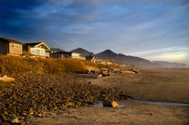 Cannon Beach Homes:スマホ壁紙(壁紙.com)