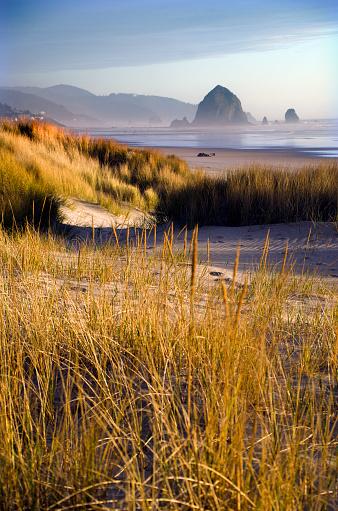 Cannon Beach「Cannon Beach Serene Landscape」:スマホ壁紙(4)