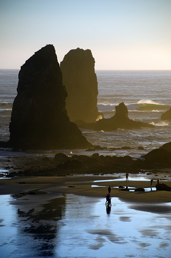 Cannon Beach「Cannon Beach Rock Formations」:スマホ壁紙(13)