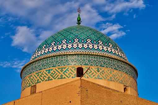 Iranian Culture「Sayed Rokn Addin Mausoleum, Yazd, Iran」:スマホ壁紙(12)