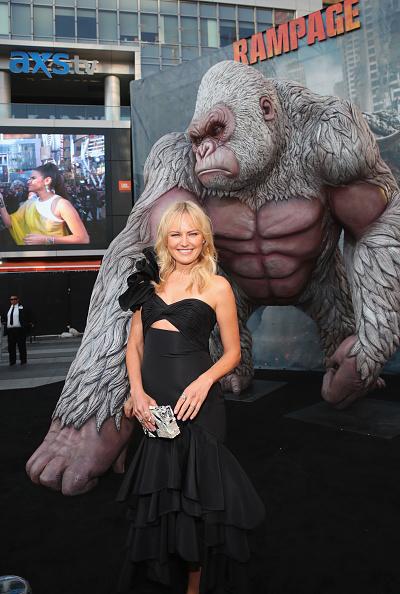 "Flounced Dress「Premiere Of Warner Bros. Pictures' ""Rampage"" - Arrivals」:写真・画像(15)[壁紙.com]"