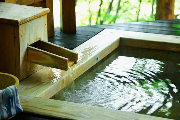 Japanese-style hot spring:スマホ壁紙(壁紙.com)