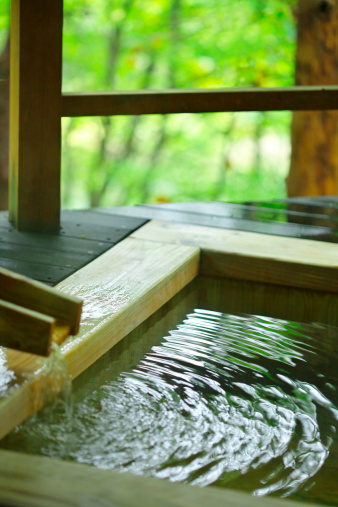 Nikko City「Japanese-style hot spring」:スマホ壁紙(0)