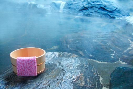 Hot Spring「Japanese-style hot spring」:スマホ壁紙(9)