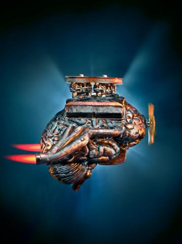 Cylinder Configuration「Brain Engine, Think Fast」:スマホ壁紙(11)