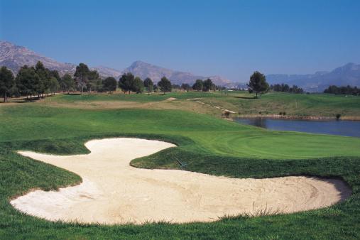 Sand Trap「bunker at golf course」:スマホ壁紙(19)
