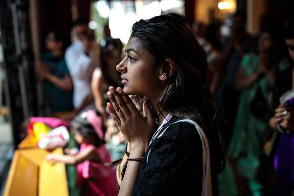 Hinduism「British Hindus Attend The Janmashtami Festival Celebrating The Birth Of Krishna」:写真・画像(1)[壁紙.com]