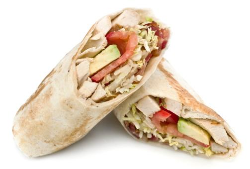 Tortilla - Flatbread「Chicken, Bacon and Avocado Wrap Sandwich」:スマホ壁紙(13)