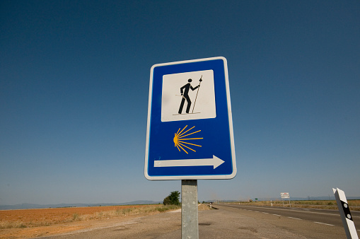 Camino De Santiago「Spain, Leon, sign of Camino de Santiago」:スマホ壁紙(16)
