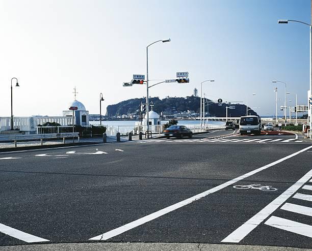Enoshima intersection:スマホ壁紙(壁紙.com)