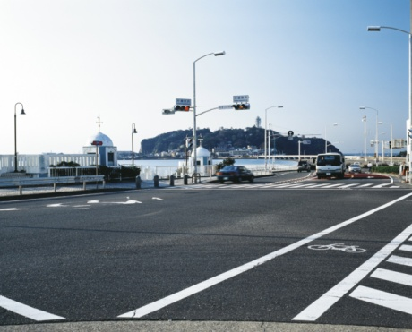Satoyama - Scenery「Enoshima intersection」:スマホ壁紙(16)