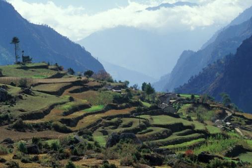 Khumbu「Agricultural mountainous landscape」:スマホ壁紙(17)