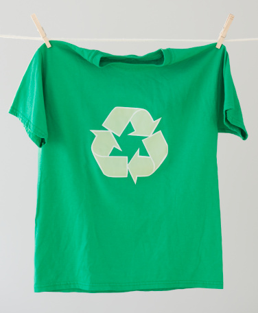 Responsibility「Green recycling t-shirt」:スマホ壁紙(17)