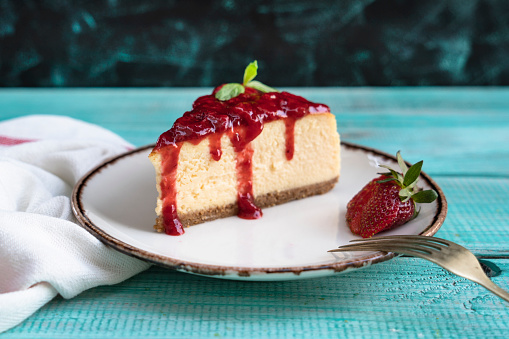 Sweet Food「Stawberry Cheesecake」:スマホ壁紙(11)
